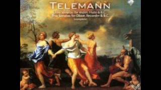 "Telemann : ""Trio Sonata in D major TWV 42: d10"" - Fabio Biondi (2 of 4)"