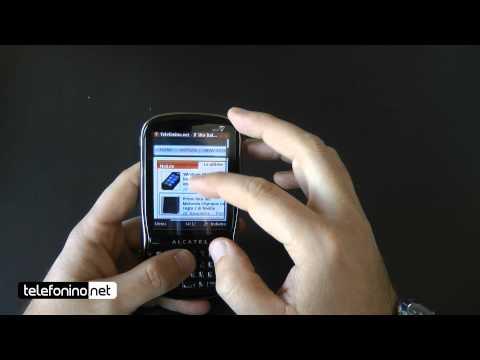 Alcatel OT 806 videoreview da Telefonino.net