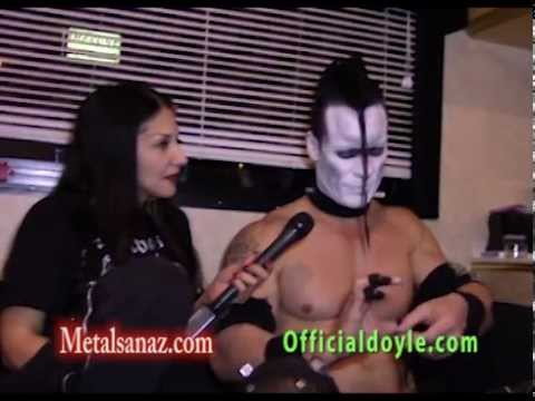 Doyle interview at Whisky A Go Go April 8th with Sanaz