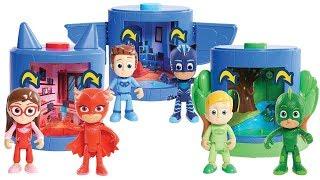 Pj Masks Super Pigiamini: i set di trasformazione di Gufetta, Gattoboy e Geco [Apertura Gioco]