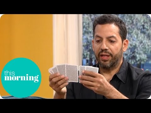 David Blaine Shocks Eamonn And Ruth With Incredible Card Trick | This Morning