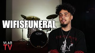Wifisfuneral Funeral Laughs at Daylyt's Theory on Broke Soundcloud Rappers w/ Face Tattoos (Part 3)