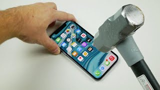 iPhone 12 Pro Hammer & Knife Scratch Test!