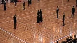 第18回選抜高校剣道大会 予選リーグ 九州学院VS愛工大名電 大将戦