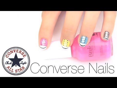 Pintado de uñas converse