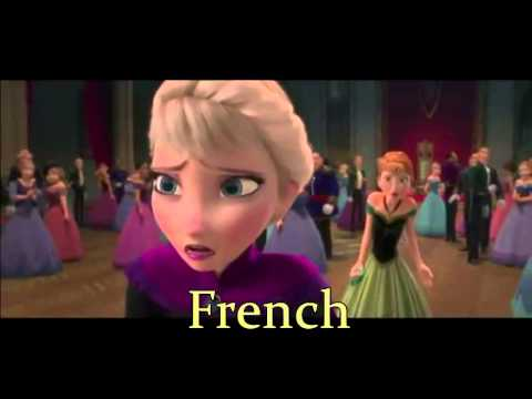 Frozen Party Is Over Both French Youtube