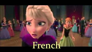 Frozen - Party is over (both french)
