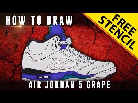 how to draw jordan 1