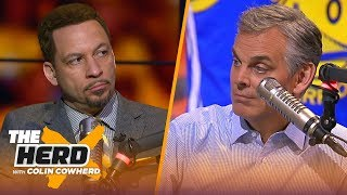 Chris Broussard: Boogie was 'great' for Warriors & the Raptors missed a big chance   NBA   THE HERD