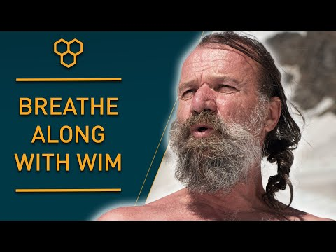 Breathe Along with Wim Hof | Guided Breathing