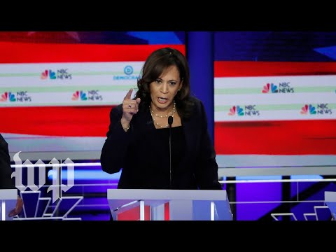 Kamala Harris's breakout moments from the first Democratic debate