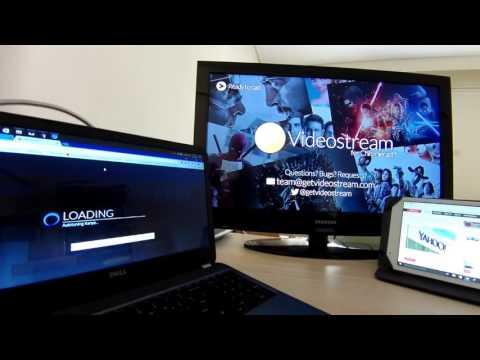 Chromecast Demo (Tab Cast, Movie Stream With VideoStream) | Liveplace.gr