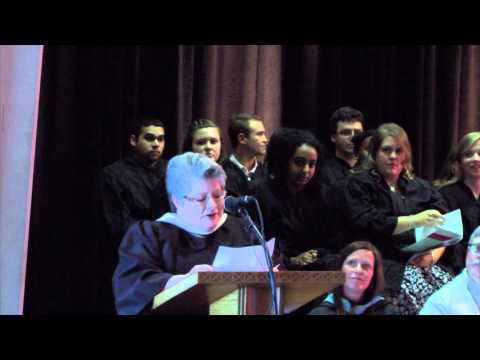 Wittenberg University Honors Convocation 2015