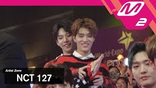 (미공개) [2017MAMA x M2] NCT 127 Reaction to 슈퍼주니어's Performance
