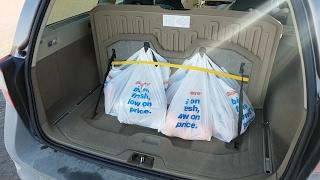 Покупки с Volvo. Держатель для сумок (обзор)