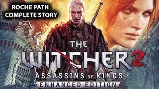 The Witcher 2 - The Movie (Marathon Edition) - All Cutscenes/Story With Gameplay HD 1080p 60FPS
