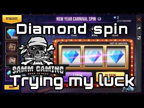 DIAMOND SPINNING 💎 DIAMOND 💎 SPIN
