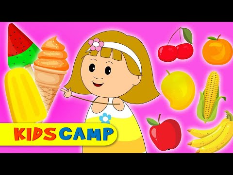Learn Vegetables With Ice Cream | Learning Video | Educational For Kids By KidsCamp