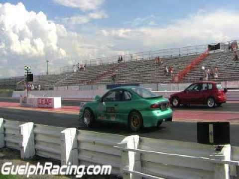 SSPA green Turbo Sunfire Vs Wonda Red Turbo EG civic.