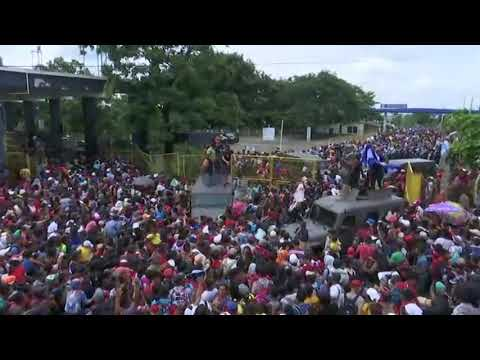 Chris Baker - Looks Like An Invasion To Me. Mexico Border