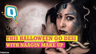 Halloween Makeup: These Makeup Tips will Help you Ace the 'Desi' Halloween Look   Quint Neon thumbnail