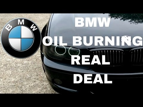 BMW OIL BURNING FIX - oil piston rings in M54 engine are bad by design