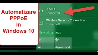 Conectare automata net PPPoE RDS pe Windows 10