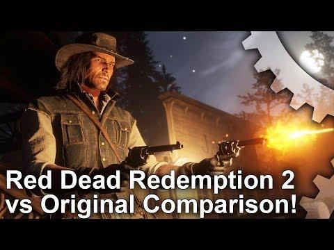 [4K] Red Dead Redemption 2 vs Red Dead 1 Graphics Comparison - 1899 vs 1911! thumbnail