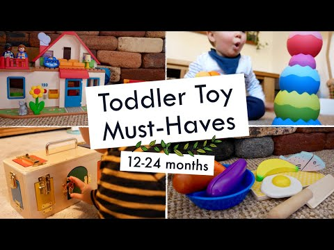 TODDLER TOY MUST-HAVES (12-24 months) | How to entertain a one year old
