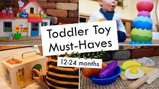Toddler Toy Must-haves  12-24 Months  | How To Entertain A One Year Old