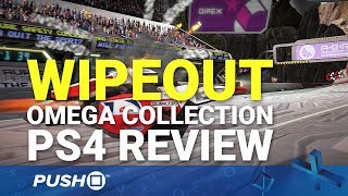 WipEout Omega Collection PS4 Review: Need for Speed | PlayStation 4 | PS4 Pro Gameplay Footage