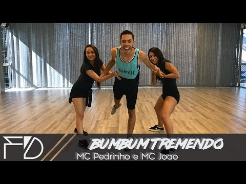 MC Pedrinho e MC João - Bumbum Tremendo - Formation Dance Coreografia