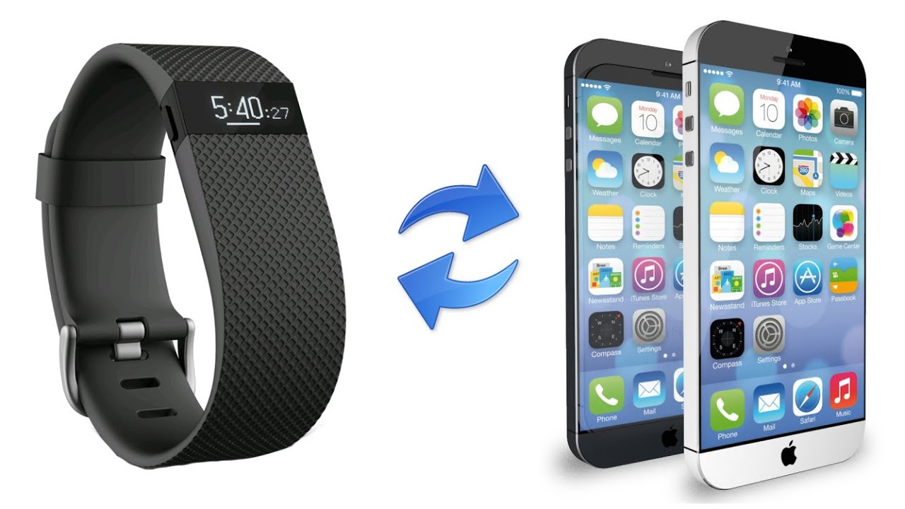 how to link fitbit to iphone how to re sync sync the fitbit charge hr to an iphone 18897
