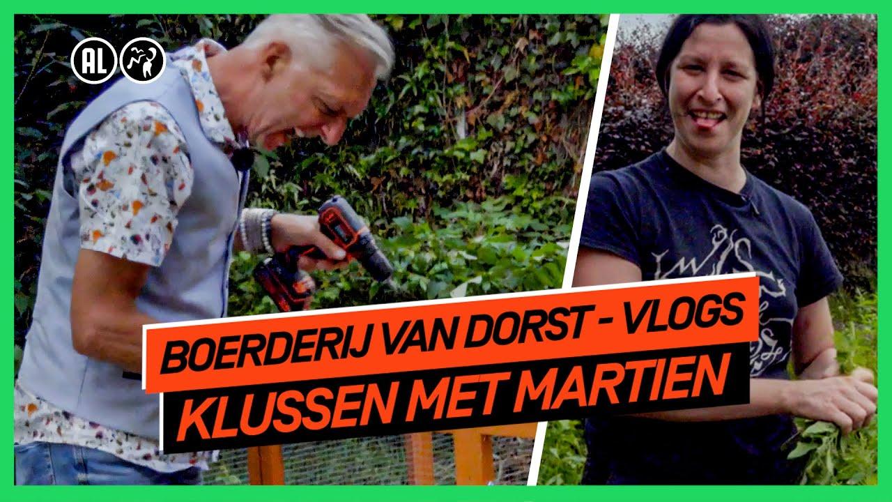Martien flipt op kippenhok   Boerderij van Dorst - vlogs   NPO 3 TV