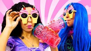 Игры для девочек  - Принцессы Дисней и генеральная уборка в Замке! - Смешные видео онлайн