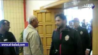 بالفيديو والصور.. محافظ أسوان يستقبل بعثة المنتخب الليبي بفرق الفنون الشعبية
