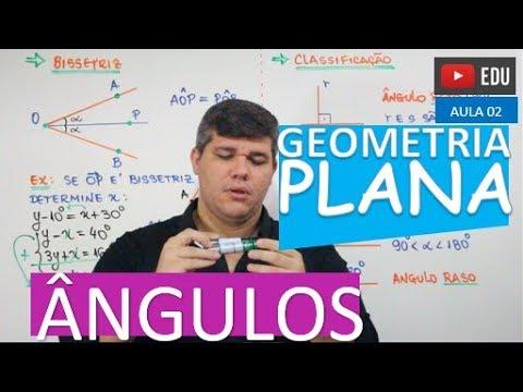 �ngulos - GEOMETRIA PLANA (aula 02)