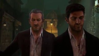 Uncharted 3 Drake's Deception Remastered - Chapter 4: Charlie Cutter, Nathan & Sully Alley Cutscene