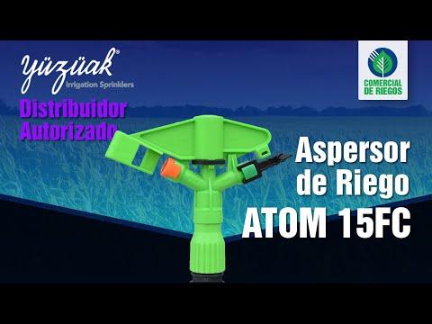 ASPERSORES Y CAÑONES DE RIEGO | Irrigación | YUZUAK Atom 15FC🌀 | Riego por Aspersión |