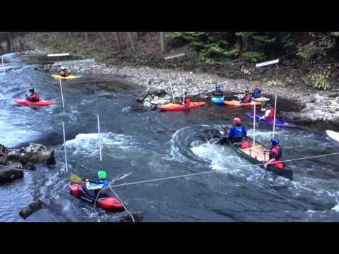 Matlock Bath River Derwent Kayaking