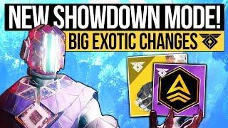Destiny 2 News   NEW GAME MODE & CRAZY BUFFS! Showdown, One Hit Kill Melee, Mini Radiance & More!