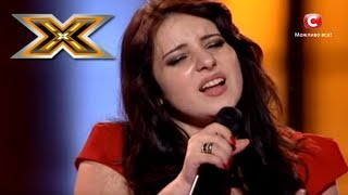 Whitney Houston - One Moment In Time (cover version) - The X Factor - TOP 100