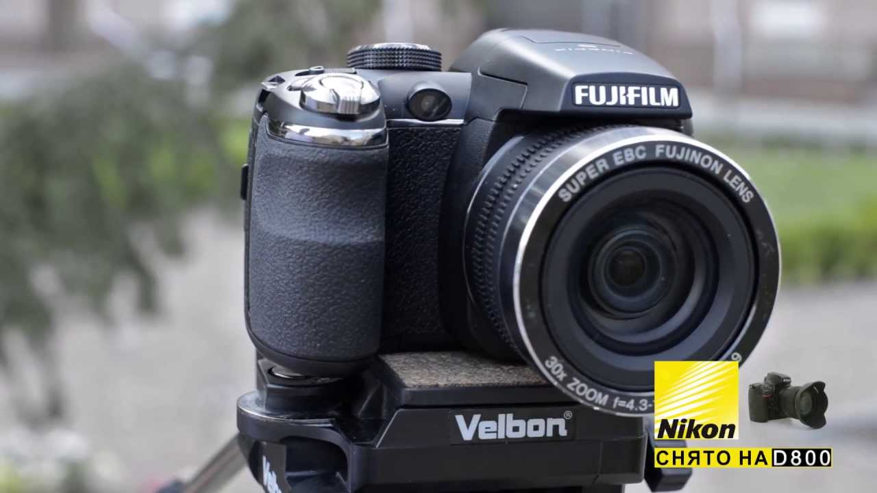 Фотоаппарат Fujifilm FinePix S4500 - YouTube