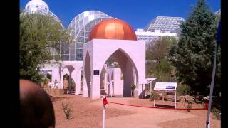 Biosphere 2 Omani Falaj Exhibit Dedication 4-21-12