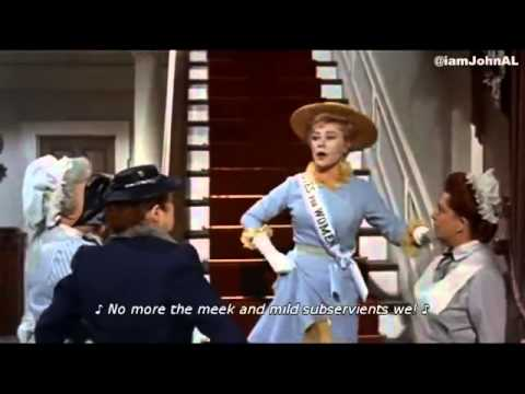 Sister Suffragette   Mary Poppins 1964 edit