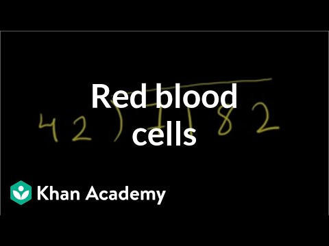 Red blood cells | Human anatomy and physiology | Health & Medicine | Khan Academy