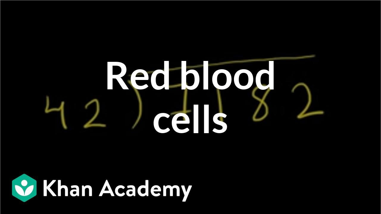 Red blood cells | Human anatomy and physiology | Health & Medicine ...
