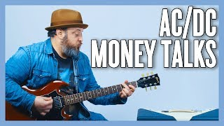 AC/DC Moneytalks Guitar Lesson + Tutorial