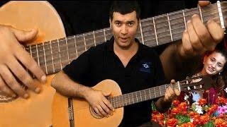 Алсу-Зимний сон,супер урок на гитаре!