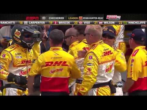 All of Ryan Hunter-Reay's wins in the Indycar Series